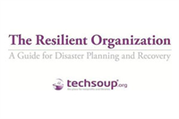 Be Prepared: Disaster Planning